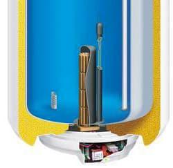 chauffe-eau électrique avec anode hybride