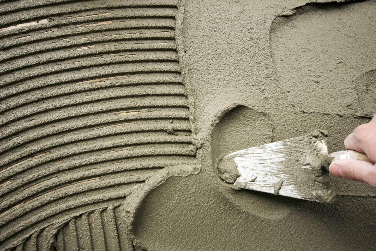 mortier réparation du béton