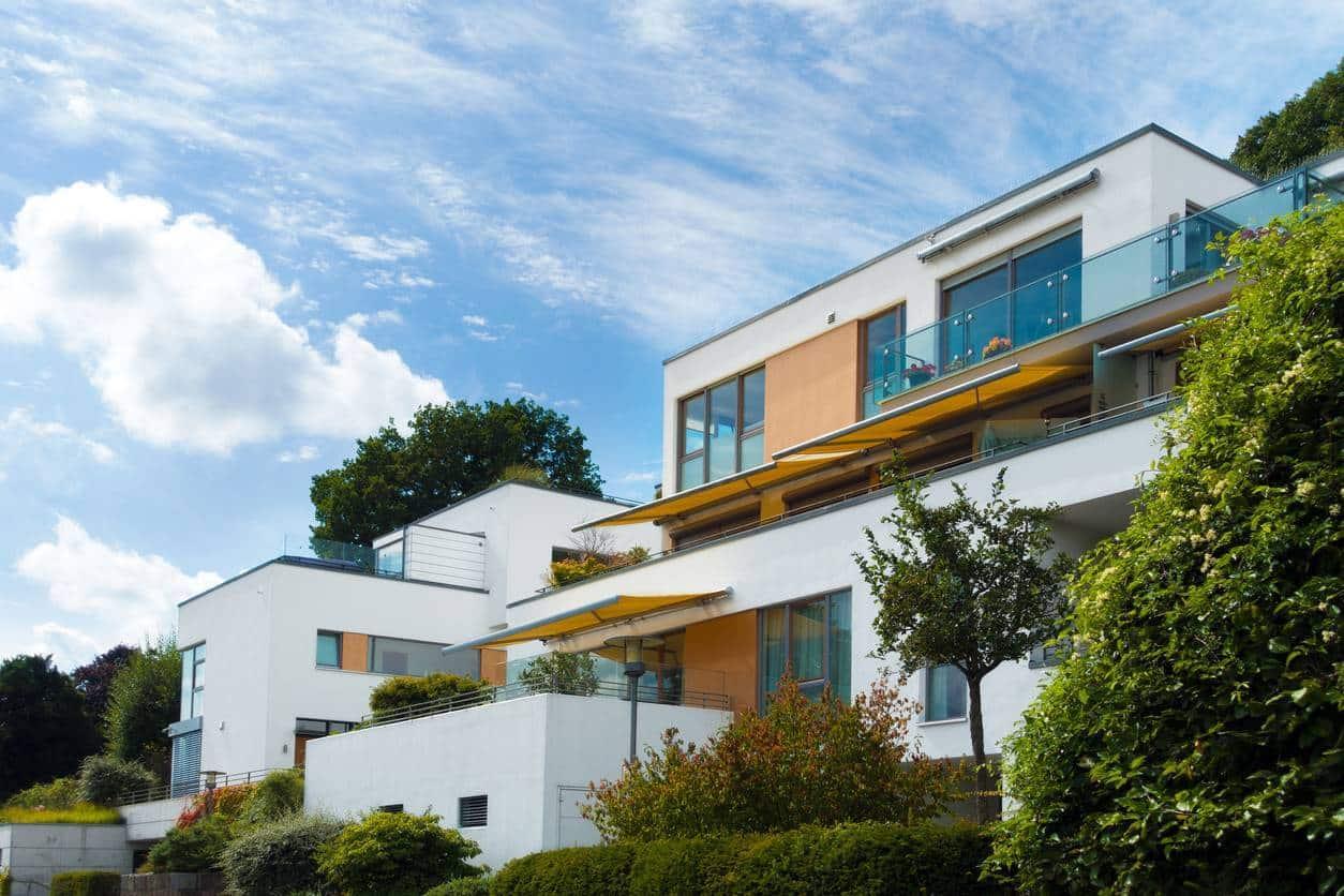 maison cubique tendance