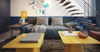 meuble de style industriel