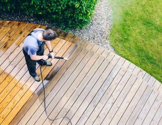 Nettoyer la terrasse