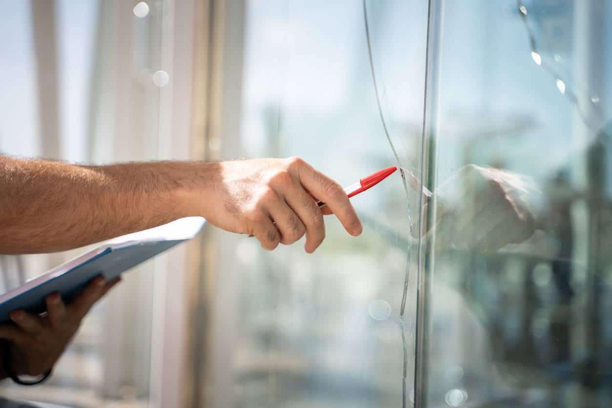 réparation vitre double vitrage
